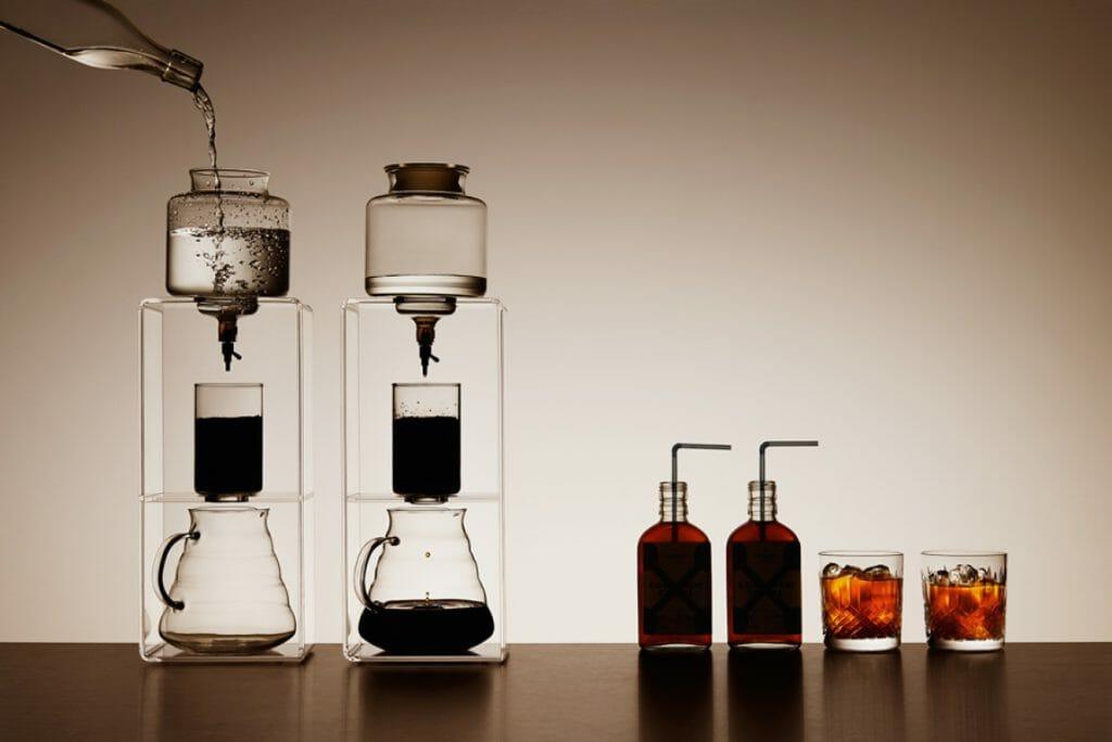 Cold brew koffie zetten