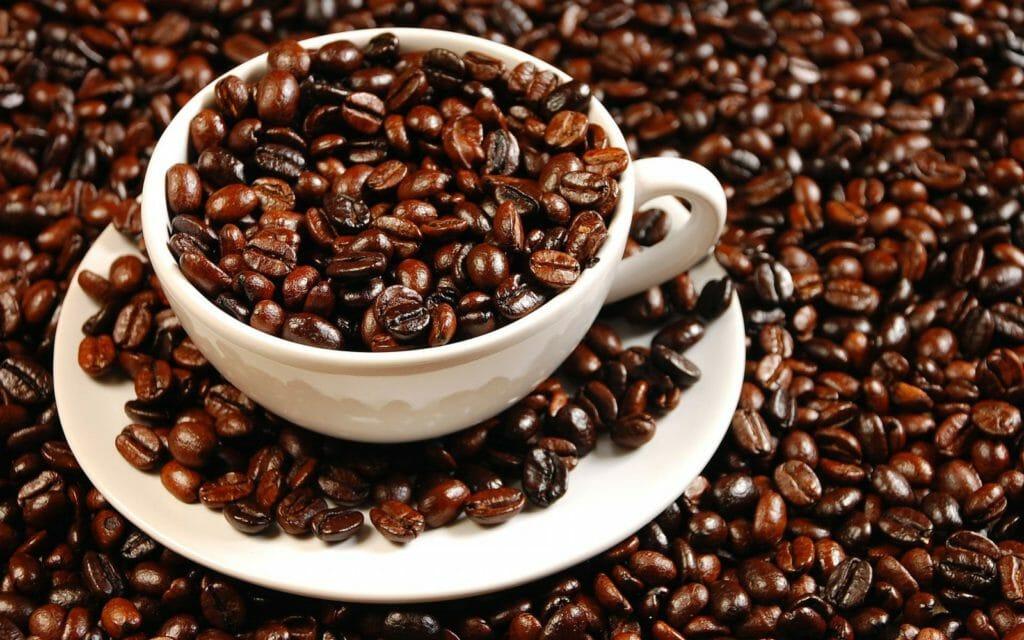 colombiaanse koffiebonen