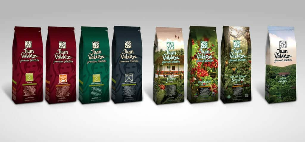 juan valdez koffie colombiaans