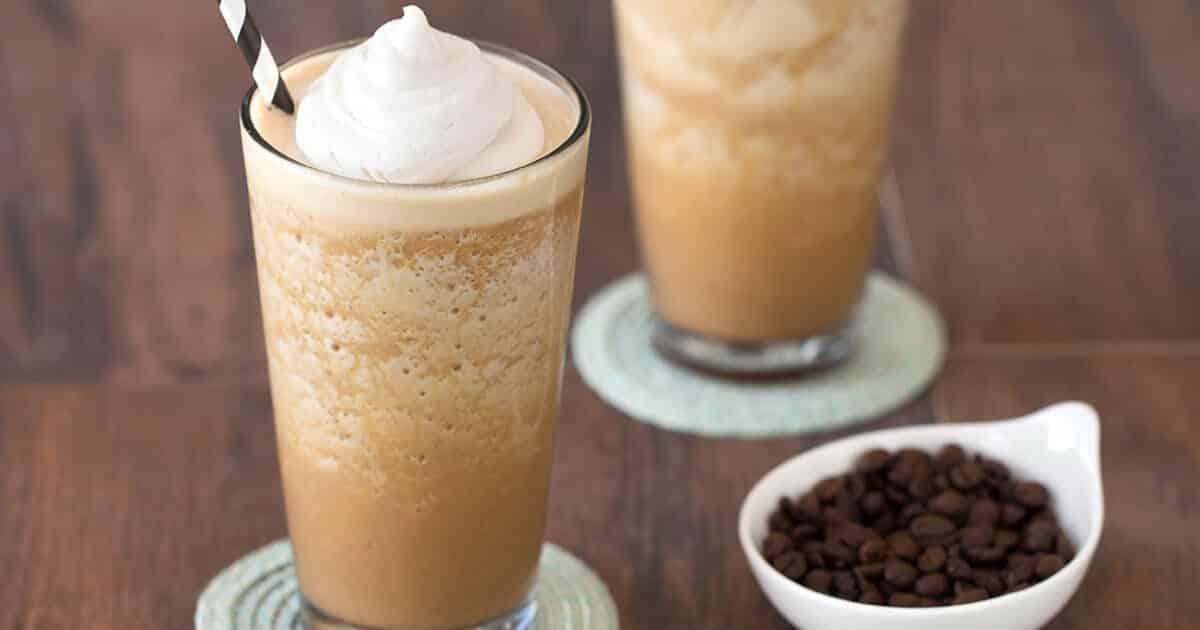 Koffie eiwitshake maken