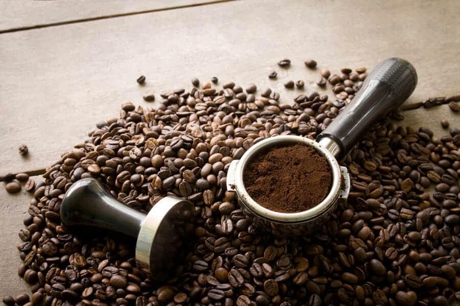 Koffiebonen malen