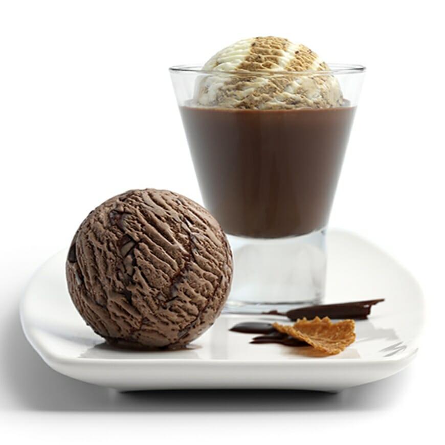 Cappuccino ijsje