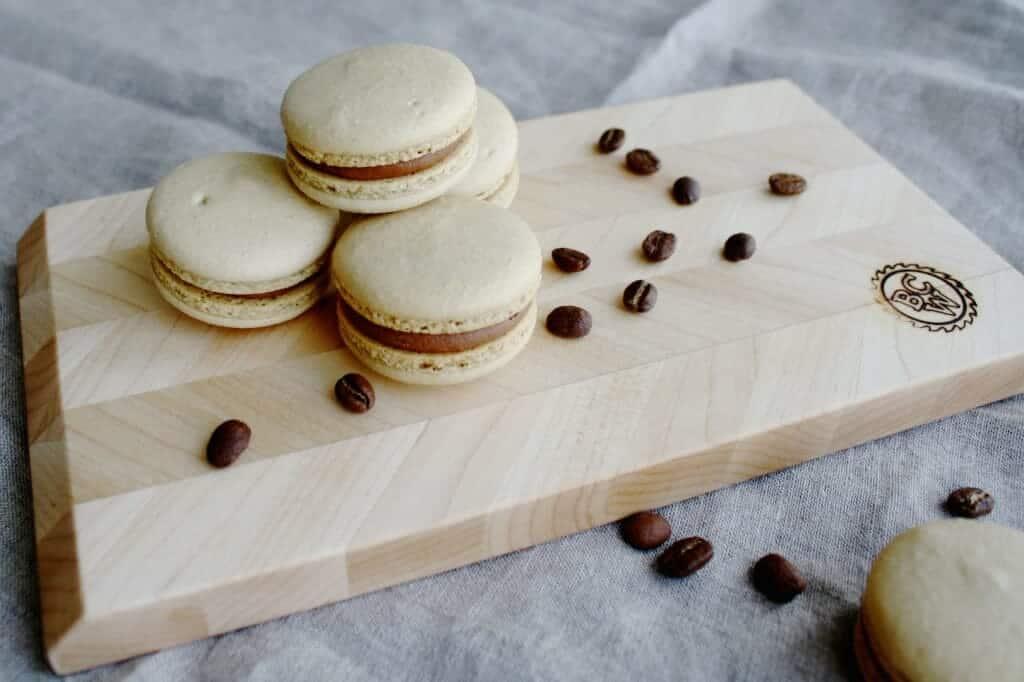 Koffie macarons