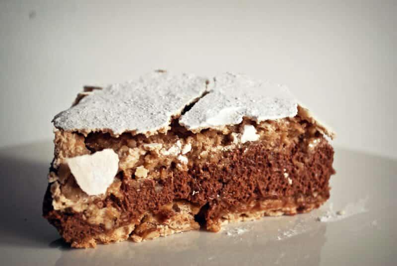 Mokka meringue taart