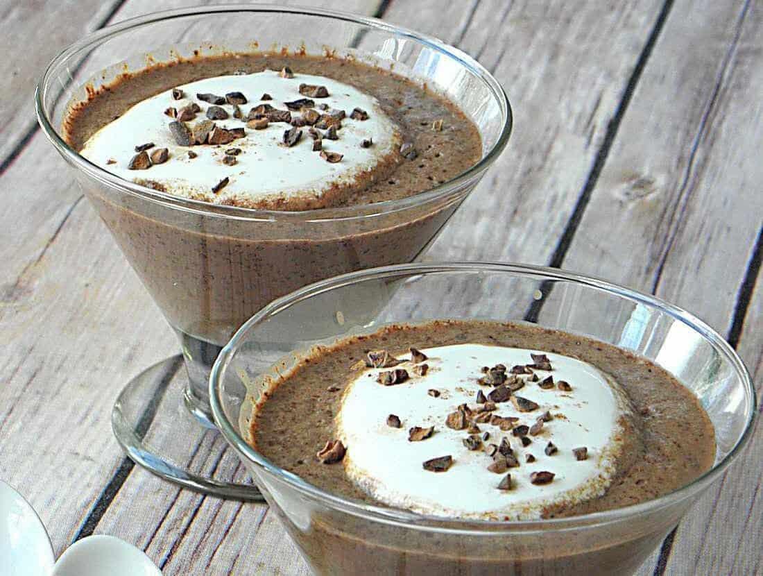 Cappuchia pudding