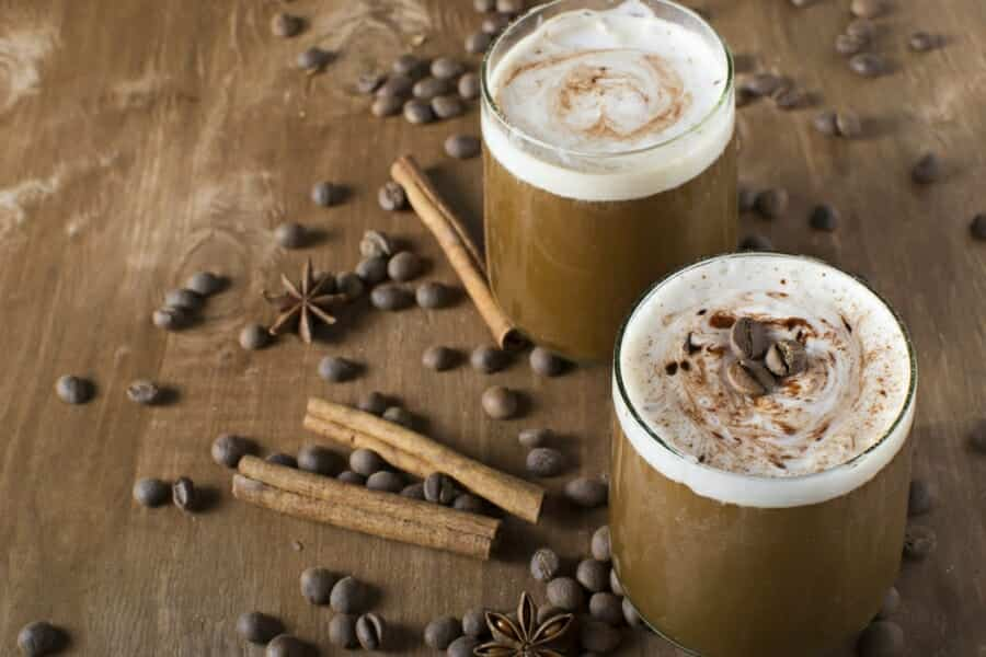 Natuurlijke koffie eiwitshake