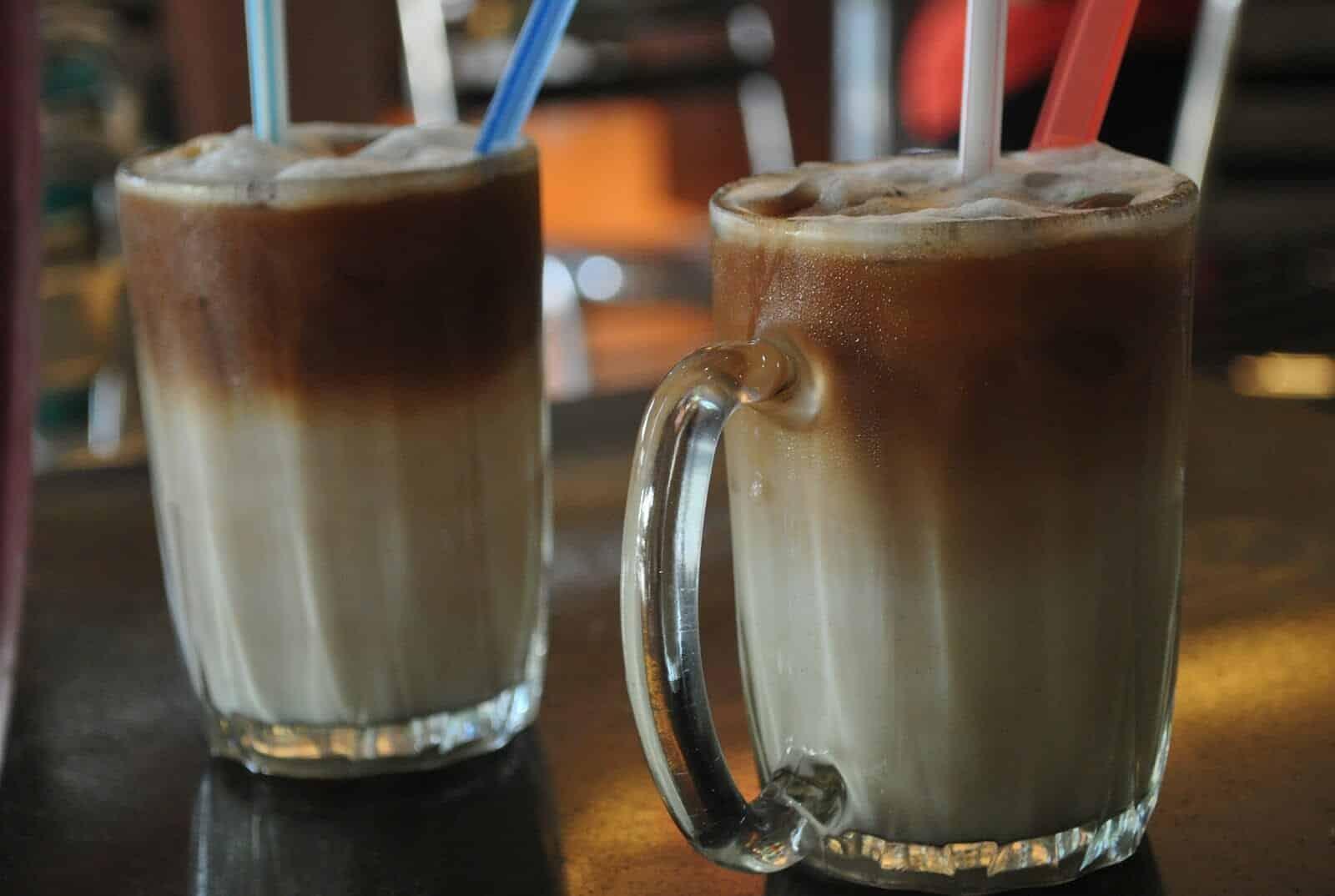 Ais kopi cham ijskoffie