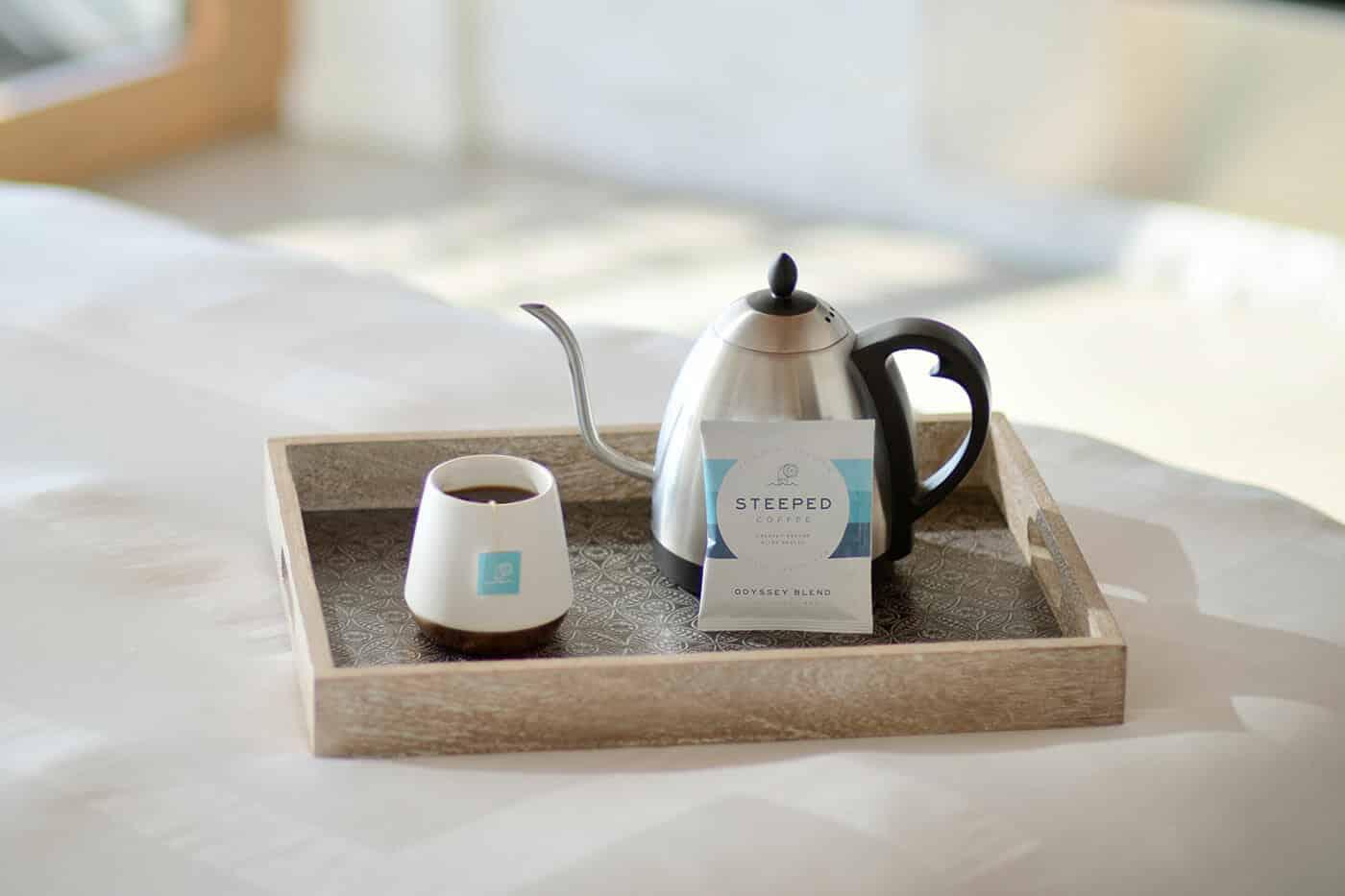 Bereidingsmethodes voor luie koffiedrinkers koffiezakjes