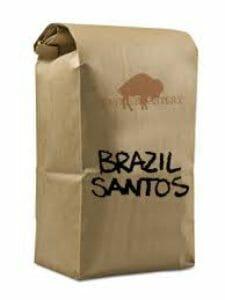 brazil santos koffie