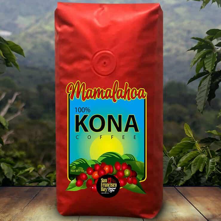 hawaiaanse koffie kona koffie
