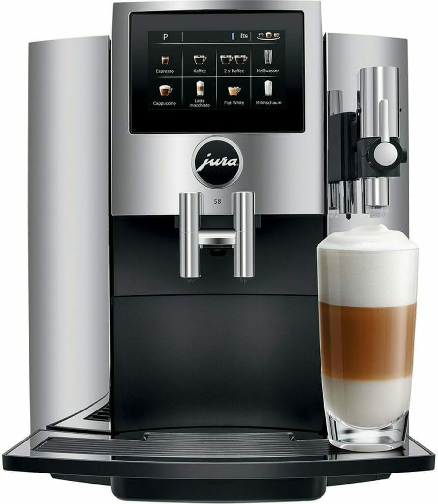 jura s8 review koffiezetapparaat volautomaat koffie