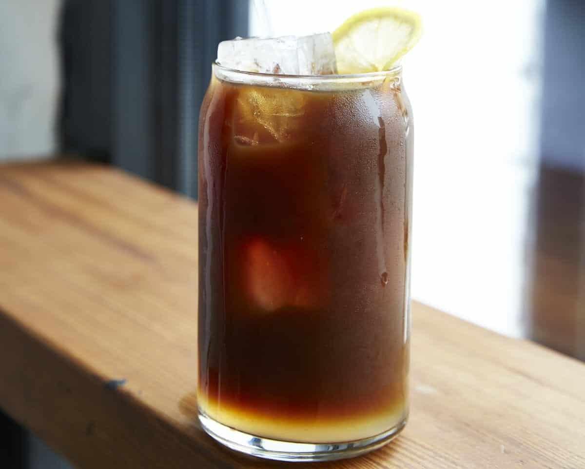 Kaffelemonad ijskoffie