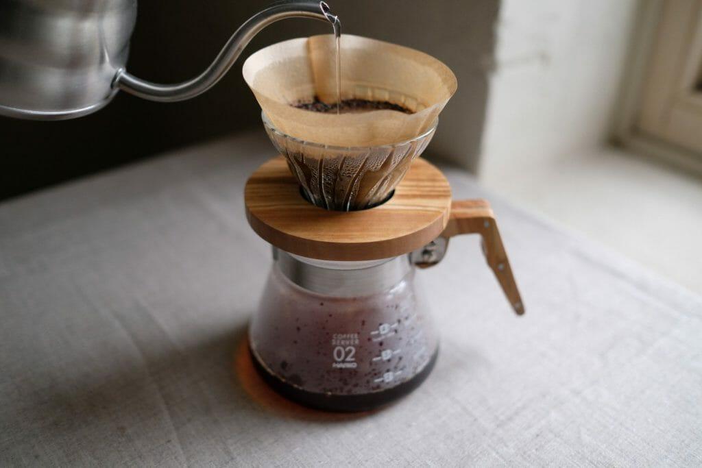 Koffie bereiden met Hario V60