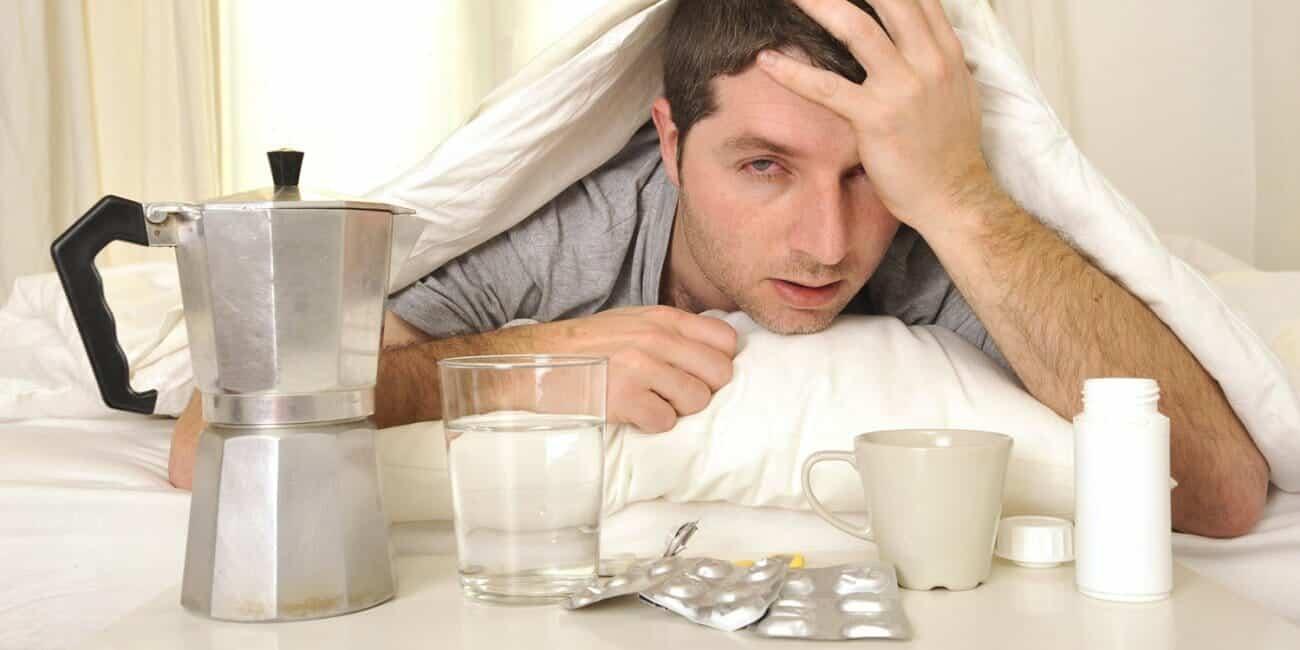 Koffie genezing kater