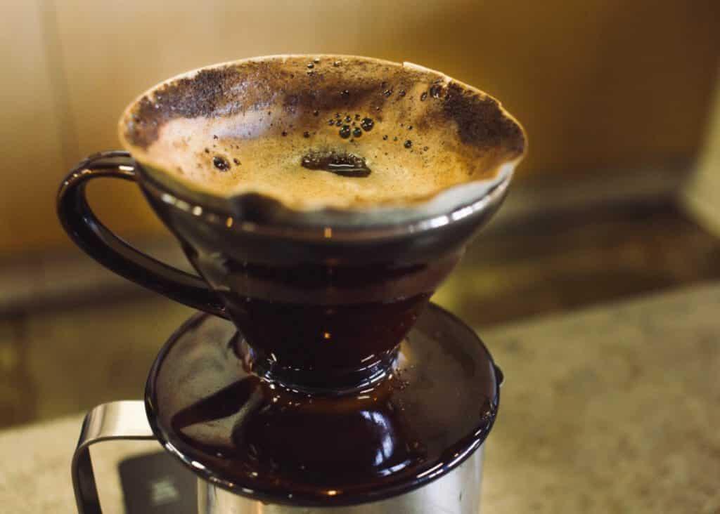 Koffie zetten met Hario V60