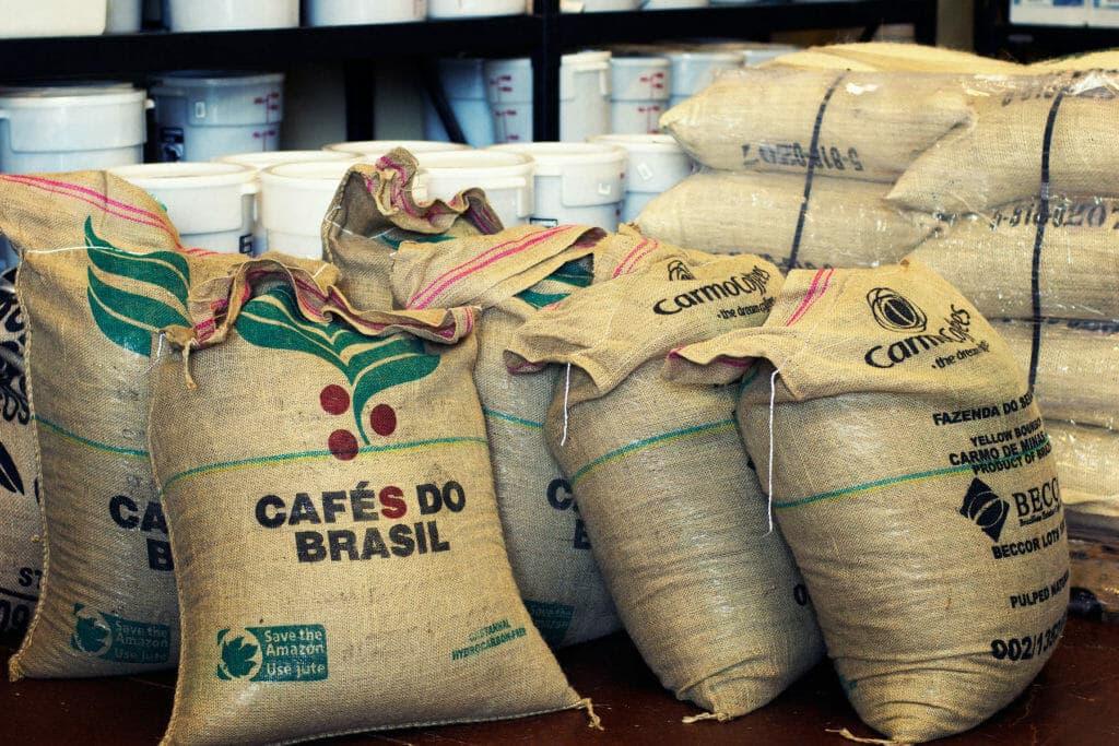 koffiebonen uit brazilie