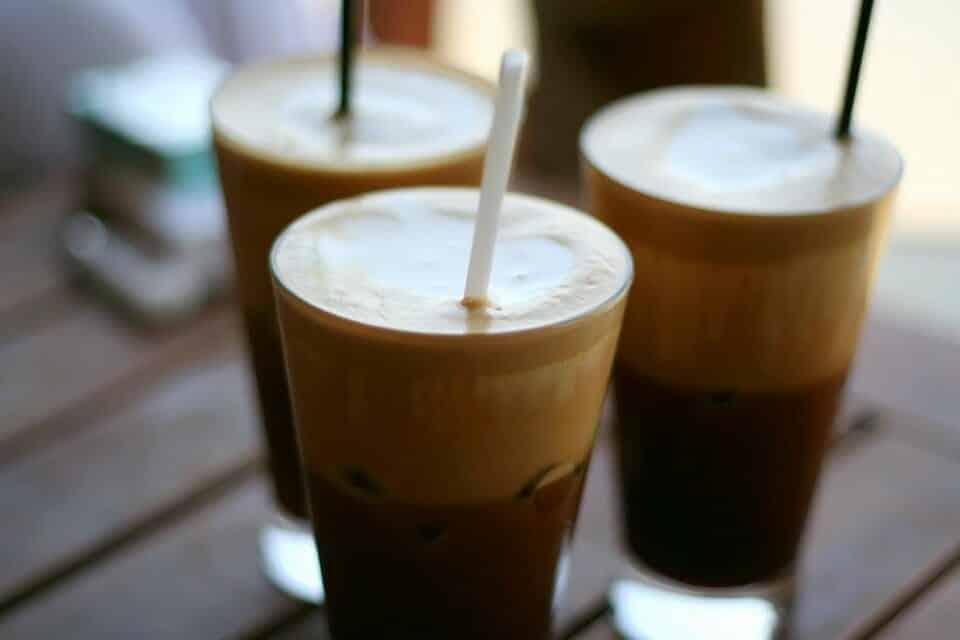Mocha cola ijskoffie