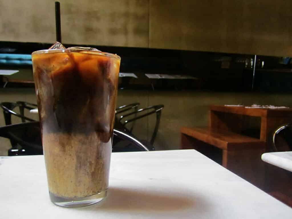 Oliang ijskoffie