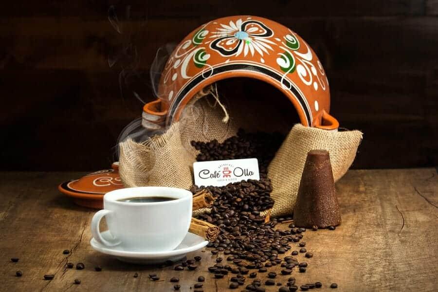 Unieke koffiedranken Café de Olla