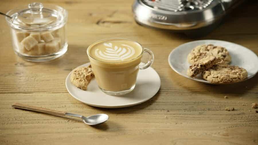 Unieke koffiedranken Flat White