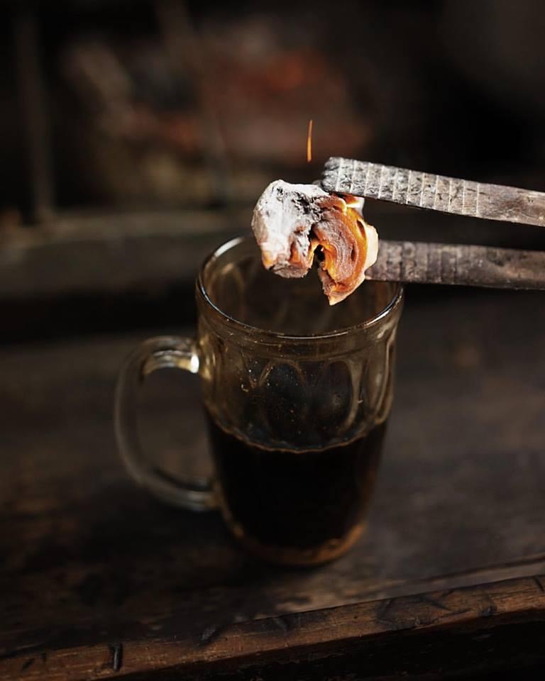 Unieke koffiedranken Kopi Joss
