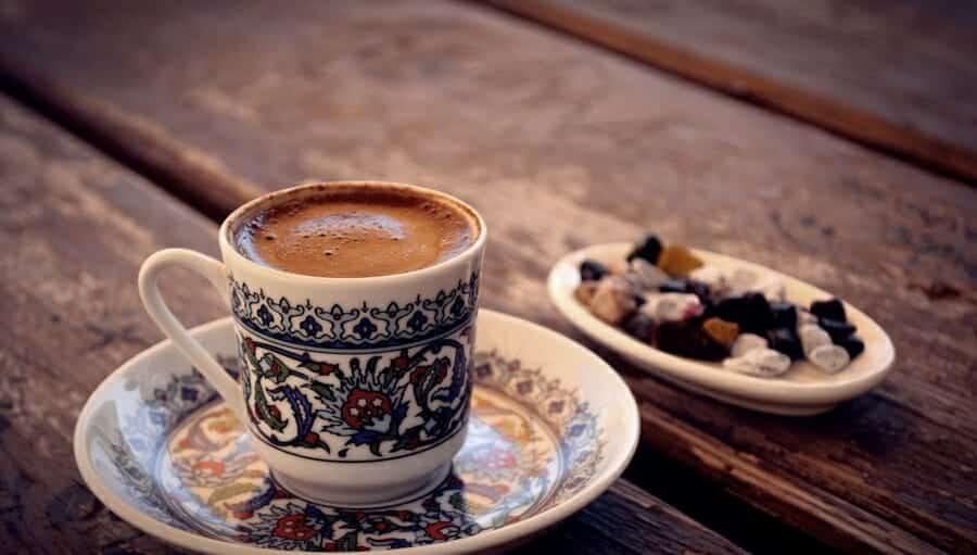 Unieke koffiedranken Türk Kahvesi