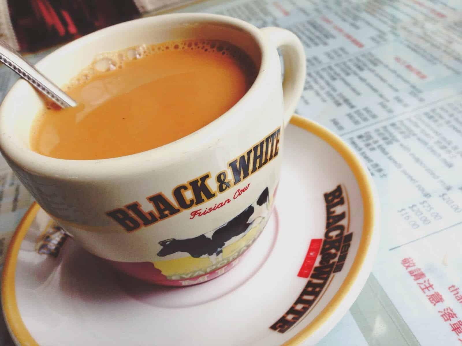 Unieke koffiedranken Yuanyang