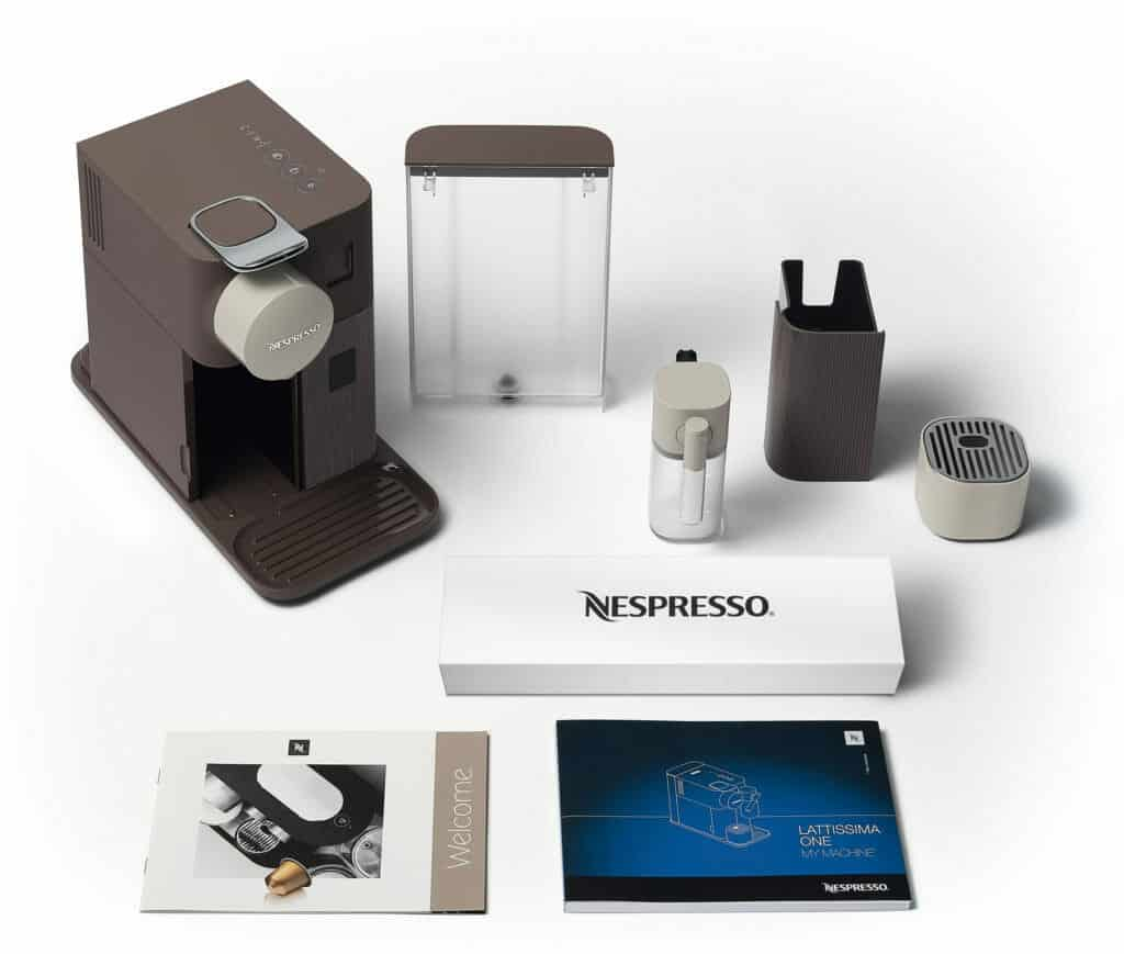 koffiecupapparaat Delonghi Nespresso Lattissima One review delonghi kopen