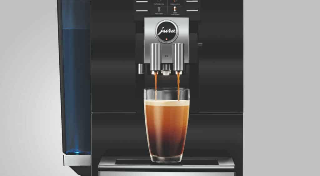jura z6 2018 review koffiezetapparaat koffie