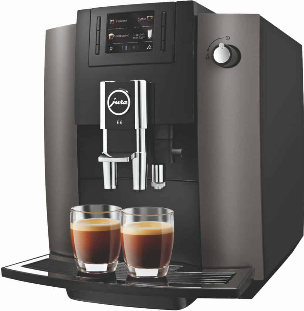 jura e6 review volautmatische espressomachine