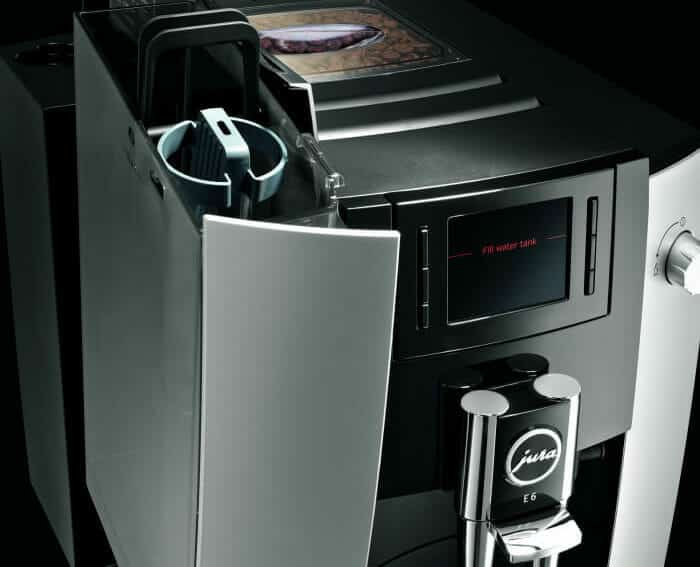 jura e6 review volautomaat espresso