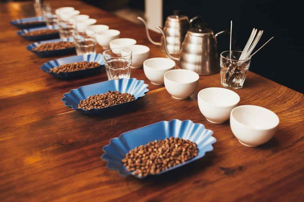 koffie proeven testen