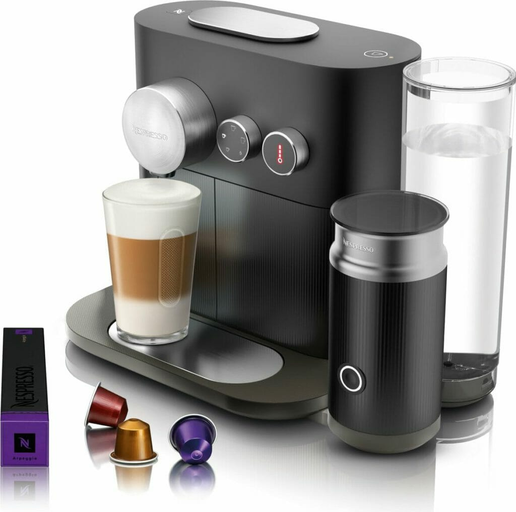 review nespresso expert & milk
