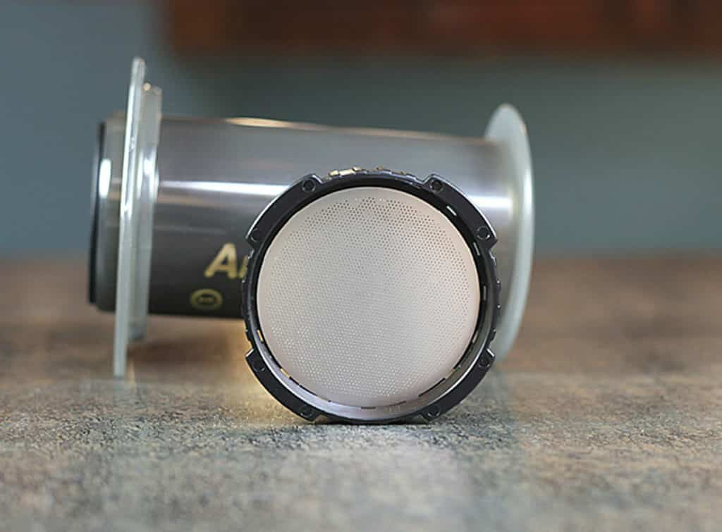 aeropress filter cold brew koffie