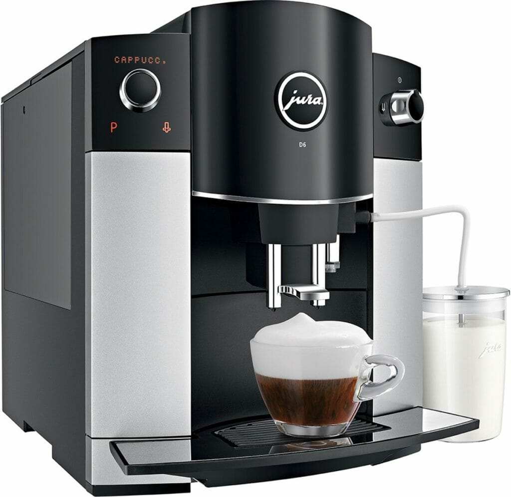 jura d6 review volautomatische espressomachine