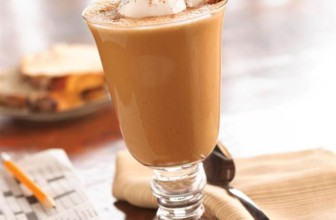 Azteekse kaneel chocola ijs cappuccino