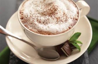 Chocolade munt cappuccino recept