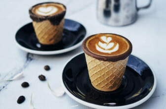 Koffie in een hoorn?